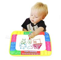 Wholesale 2015 New Puscard X19cm Water Drawing Painting Writing Mat Board Magic Pen Doodle Gift Wholesales