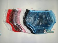 plastic pants - TOP Guaranted PVC pieces ADULT BABY diaper incontinence PLASTIC PANTS P005 Full Size