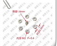 Wholesale M2 nut environmental protection six GB nut small micro M2 RoHS nickel plating