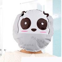Wholesale Hot Seller Bathing Shower Cap Waterproof Hats Cute Cartoon PVC Durable Diameter CM JB19