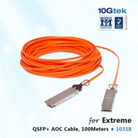 active optical cable - Gigabit Ethernet QSFP active optical cable assembly m length