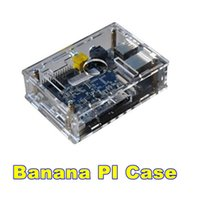 bananas dvd - Top Quality Acrylic Banana Pi Transparent case Banana Pi box with Good Heat dissipation