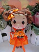 Wholesale New Cartoon cm ddung Doll toys Confused dolls013 Flower Fairy Doll Doll doll wedding gifts Vinyl PVC dolls key chains