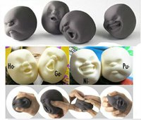 Wholesale CAOMARU anti stress tool Stress Ball for you to Vent On Human Face Ball