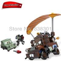 toy tow trucks - Pixar Cars Building Blocks Toys Mater Escape Tow Mater Truck Pixar Car The Scene Blocks Toy Set For Children