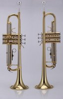 Wholesale B flat trumpet JYTR E108G Direct Gold Lacquer official security check