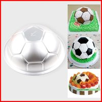 cake tins - 2014 best selling football Shaped Pan Tin Cup Cake Baking Bakeware Cake Decoration Tool baking tools for cakes