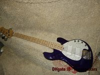 Wholesale Guitars Purple strings Music Man Electric Bass High Quality From China HOT