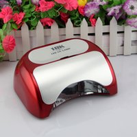 automatic nail - Automatic Infrared Sensor Magnetic Removable Nail Polish Gel Dryer K W LED UV lamp for nails