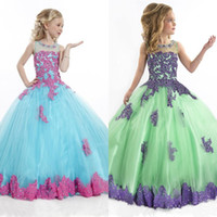 Cheap Pageant Dress for Girls Best Beaded Pageant Gowns