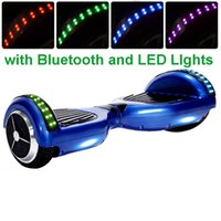 Wholesale MJB brand Scooter LED light Bluetooth Off road model Outdoor inch wheels Electric Self Balancing Scooter VS Bicycle Bike Sport Car