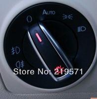 Wholesale OEM Brushed Auto Headlight Fog light switch for VW Tiguan Golf MK6 VI Jetta MK5 V Passat B6 B7 ND B