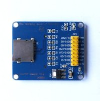 Wholesale 1Pcs New V V Micro SD and TF card Reader Module SPI SDIO Dual Mode Board