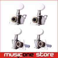 Wholesale A set of R2L Opened Ukulele Tuning Pegs Machine Heads Tuners For Ukulele MU0214