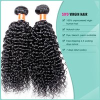 Wholesale Brazillian Hair Water Wave Brazilian Curly Hair Human Hair Weave quot quot A Brazilian Hair Weave Bundles