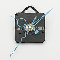 clock mechanism - Blue Hands DIY Quartz Black Wall Clock Spindle Movement Mechanism Repair Parts High Quality