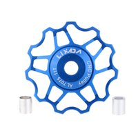 Wholesale LIXADA MTB Bike Road Bicycle Rear DerailleurDurable Lightweight Aluminum Alloy Roller Idler Pulley Jockey Wheel Part Accessory