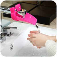 Wholesale Children s guide Creative Cute Cartoon Faucet Extender For Children Hand Washing