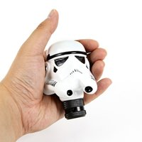 Wholesale Universal Car Manual Gear Stick Shift Shifter Lever Knob Star Wars Clone Trooper White Soldier