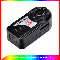 Wholesale New Night Vision Mini Camera digital All Metal Body Thumb Video DVR T8000B