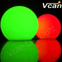 Wholesale 8PCS dia15cm waterproof rgb colors Outdoor garden decoration LED Ball with Battery Operated Lights