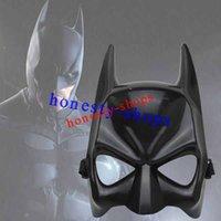batman cowl - New Arrival Masquerade Party BATMAN MASK Cowl Adult Mens Full Overhead Dark Knight Rises Costume Accessory