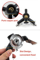 Wholesale BBQ Camping Cookware Cooking Adaptor Nozzle Gas Bottle Screwgate Camp Stove Hiking
