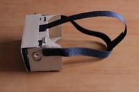 Wholesale Detachable Head Strap Head Belt Headset For Google Cardboard VR DIY D Glasses