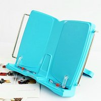 Wholesale 305 mm Multifunctional Spread Book Stand Anti myopia Reading Stand Book Stand Portable Document Holder Student Stationery SK253