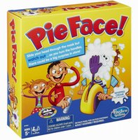 Wholesale Pie Face Game Korea Running Man Board Games Pie Face Cream On Her Face Hit The Send Machine Paternity Toy Rocket Catapult Game