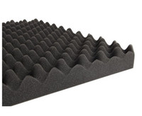absorption foam - 6 x Wave Acoustic Sound Foam Sound Absorption Treatment by Epacket