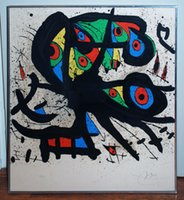 exhibition panel - Joan Miro s oil painting for bar Exhibition Agora hand painted high quality