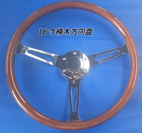 Wholesale Universal MM inch Phoebe steering wheel wooden racing steering wheel X