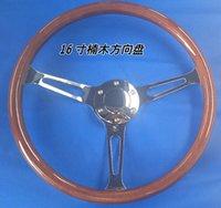 Wholesale Universal MM inch Phoebe steering wheel wooden racing steering wheel X