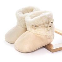 children fabric - Newest non slip Baby boots Kids Infants Toddler Children Warm Winter Snow Shoes Boots children