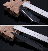Cheap Wholesale-Card Knife Folding Knife Credit Card Tool Mini Wallet Camping Outdoor Pocket Tools Tactical Knife