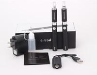 Wholesale Evod MT3 Electronic Cigarette Starter Kit mah mah mah Colors EVOD BCC MT3 Double Gift Packing Ecigarette