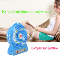 Wholesale Fashion Outdoor Wild Mini Fan with LED Indicator USB Rechargeable Portable Multifunctional Fan Electronic Desk Fan