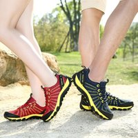 Wholesale MENS SPORT SHOES HIKING SHOES OUTDOOR SHOES MESH BREATHABLE UPPER EVA INSOLE IN TWO COLORS