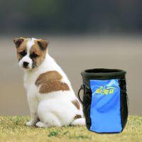 Wholesale Detachable Dog Feeding Bag Dog Training Reward Waist Bag Pet Dog Cat Feed Pocket Pouch Snack BHU2
