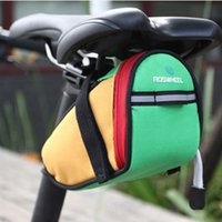 Wholesale Free DHL Roswheel Outdoor Cycling Mountain Bike Bicycle Saddle Bag Back Seat Tail Pouch Package For Moblie Phone Factory Direct