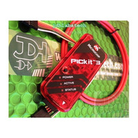 Wholesale PICKit Kit PIC MCU Programmer ZIF Adapter PIC18F4520 PIC16F877A USB Cable ICSP cable