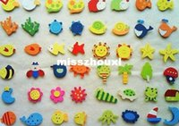 Wholesale Wooden fridge magnet sticker Fridge magnet Refrigerator magnet message Clip children s Cute cartoon