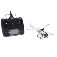 3d rc helicopter - Brand Original XK AS350 K123 CH D G System Brushless Motor RTF Remote Control Helicopter RC Helicoptero RM3637