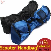 Wholesale 6 inch inch And inch Electric Scooter Handbag For Smart Scooter Board Black And Blue Color Scooter Bag