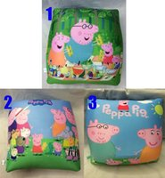 Wholesale High Quality Peppa Pig Square Pillows Froth Particle Geroge Pig throw pillow children nap Pillow H