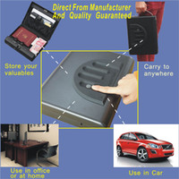 Wholesale MS500 Micro Vault Biometric Fingerprint Gun safe box with key