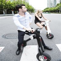 folding electric bicycle - The Newest Adult Folding Electric Bicycle Scooter With Full Aluminum Alloy Body Light Weight kgs Two colours Optional
