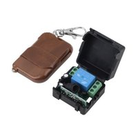 Wholesale Hot pc DC v A relay CH wireless RF Remote Control Switch Transmitter Receiver High Quality