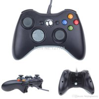 Wholesale New Black White USB Wired Gamepad Controller For MICROSOFT Xbox Slim PC Windows A3